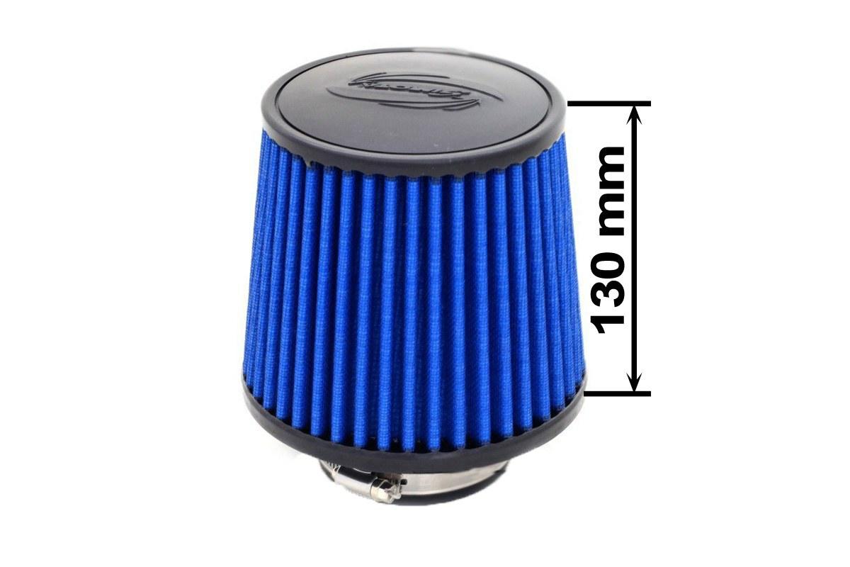 Filtr stożkowy SIMOTA JAU-X02201-05 60-77mm Blue - GRUBYGARAGE - Sklep Tuningowy